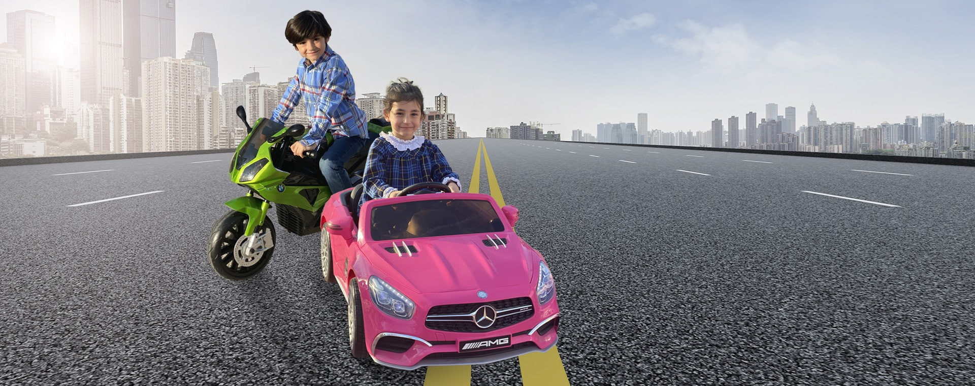 Coches y motos electricos para niños